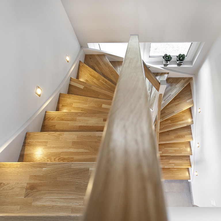 parkett f r treppen sthetikboden petersen. Black Bedroom Furniture Sets. Home Design Ideas