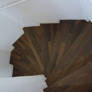 Treppe Stab Eiche angeräuchert3